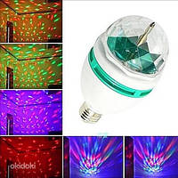 Светомузыка для дома LED лампа диско