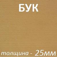 МДФ шпонированный 2800х2070х25мм - Бук