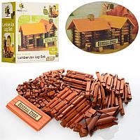 Деревянная игрушка Пазлы 3D Дом 165 деталей