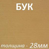 МДФ шпонированный 2800х2070х28мм - Бук