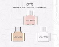 Переходник USAMS microUSB - USB OTG