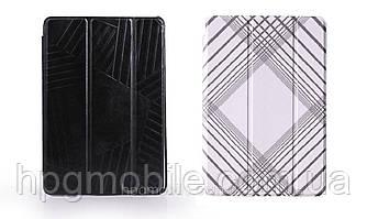 Чехол для iPad mini 1/2/3 - Miracase Veins I Folio, черный и белый