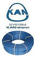 Поліетиленова труба для теплої підлоги KAN PE-RT ø16х2.0 BLUE FLOOR з Антидифузійний захистом.