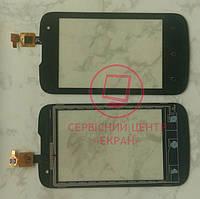 Fly IQ430 Evoke сенсорний екран, тачскрін чорний