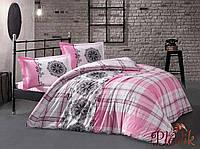Набор постельного белья двуспальный евро 200х220 Aran CLASY Ranforce Medusa V1