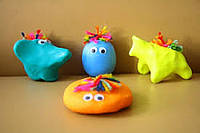 Детская игрушка латексный шар Капитошка 6 см