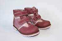Ортопедические демисезонные ботинки для девочек 202SP