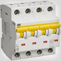 Автоматический выключатель ВА47-29 4P 40A 4,5кА х-ка C ИЭК