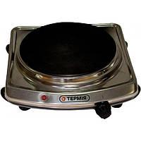 Электроплита Термия 1,5 кВт Нержавейка дисковая