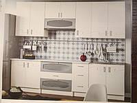 Кухня Импульс 2.6 метра белая, фото 1
