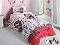 Детское постельное белье 160х220 Aran CLASY Ranforce EMILY V2