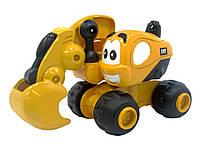 Экскаватор Дейв САТ для малышей Инерционная техника 9 см Toy State (80404)