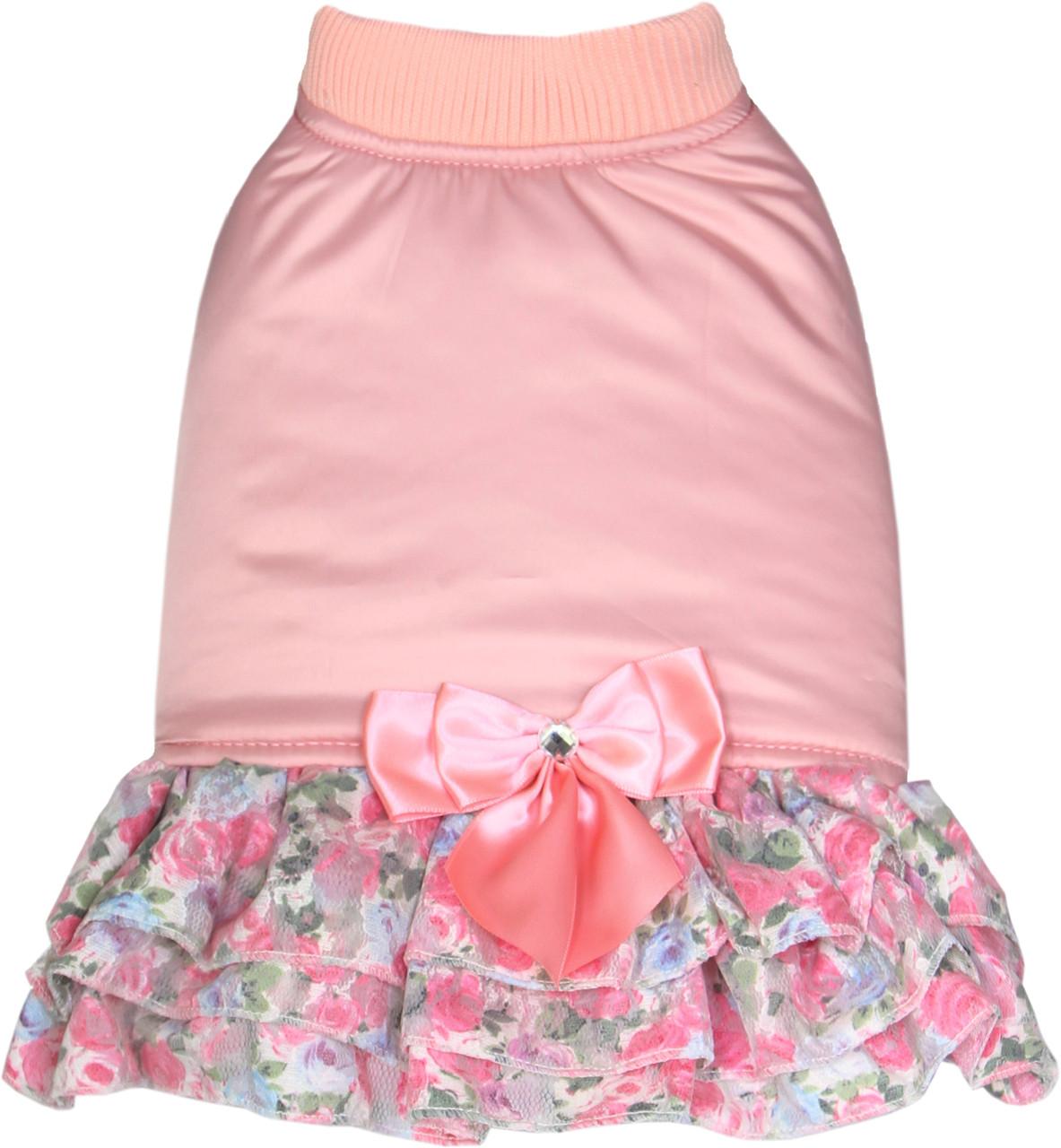 Платье для собак Dobaz Добаз, Chante розовый