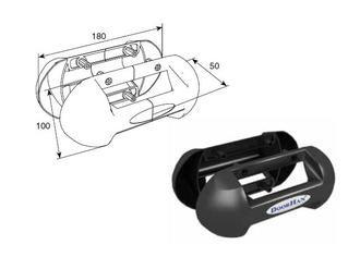 Doorhan DH25131 Ручка для секционных ворот накладная, выступающая