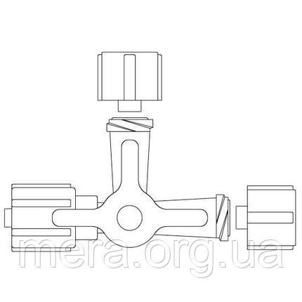 Кран 3-ходовой ULTRAMED, фото 2