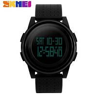 Часы Skmei 1206 (Black/черный) - Водонепроницаемые, спортивные, мужские
