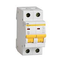Автоматический выключатель ВА47-29 2P  6A 4,5кА х-ка D ИЭК