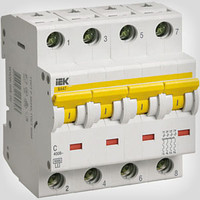 Автоматический выключатель ВА47-29 4P 10A 4,5кА х-ка D ИЭК