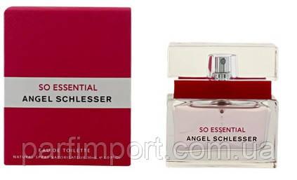 Angel Schlesser SO Essential EDT 30 ml туалетна вода (оригінал оригінал Іспанія)