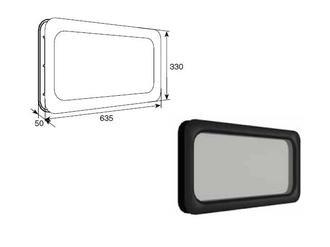 Doorhan DH85603 Окно врезное для ворот, 635х330мм
