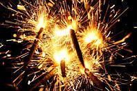 Бенгальские огни 40 см, 5 шт/уп, бенгальські вогні