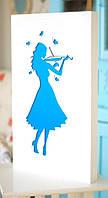 Панно «Девушка со скрипкой»