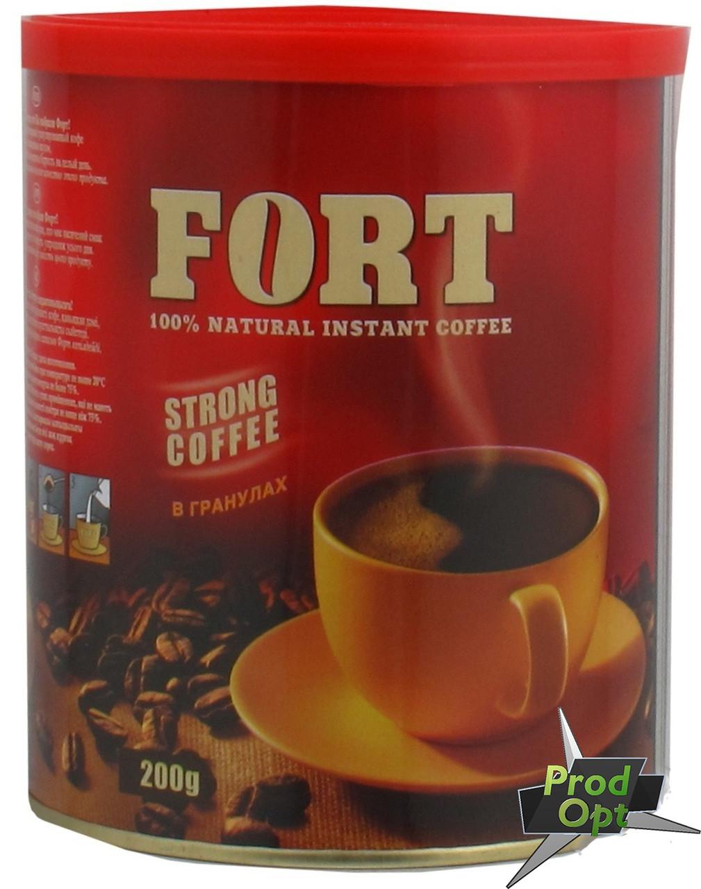 """Кава розчинна гранульована """"Еліт Форт"""" 200 г"""