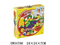 Тесто для лепки 8519, с формами фруктов. Набор для лепки Colour Dough формочки Fresh Frui