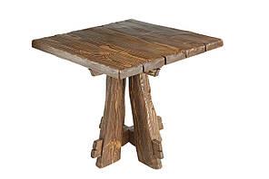Брашированная мебель стол из натурального дерева