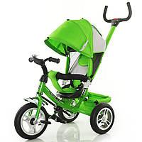 "Велосипед 3-х колёсный ""Tilly Trike"" зелёный с крышей"