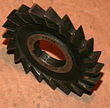Фреза трехсторонняя 100х12, Р6М5 (тип 1), фото 2