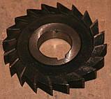 Фреза трехсторонняя 100х12, Р6М5 (тип 1), фото 5