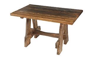 Деревянный стол  из натурального дерева под старину