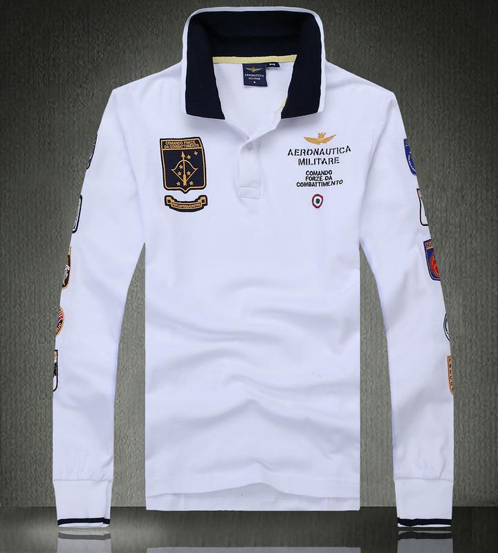 Aeronautica Militare original мужская рубашка поло аэронавтика милитари купить в Украине