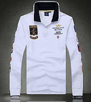 Aeronautica Militare original мужская рубашка поло аэронавтика милитари купить в Украине, фото 1