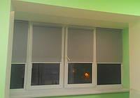 Как установить рулонные шторы на окно в Киеве