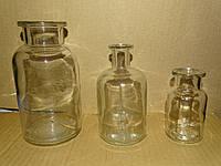 Бутыль для реактивов под резиновую пробку Чехия
