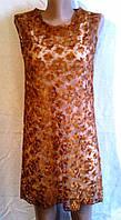 Платье +Туника из гипюра