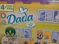 Подгузники (Дада) Dada Extra soft 4+ (maxi+) 9-20 кг МЕГАПАК 100 шт