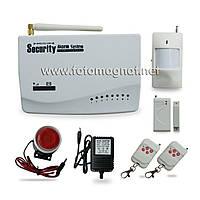 Сигнализация GSM (комплект) COLARIX ALM-GSM-001  (охранная сигнализация gsm)