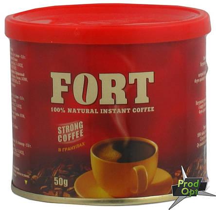 Кава розчинна гранульована Еліт Форт 50 г, фото 2