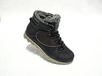 Зимние мужские кожаные ботинки Silver , фото 1
