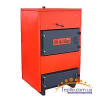 Пиролизный котел промышленный Amica 35 КВт твердотопливный дровяной
