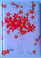 Ежедневник недатированный А5 Цветы 1В166 Аркуш Украина