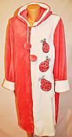 Махровый халат в разных цветах, фото 1