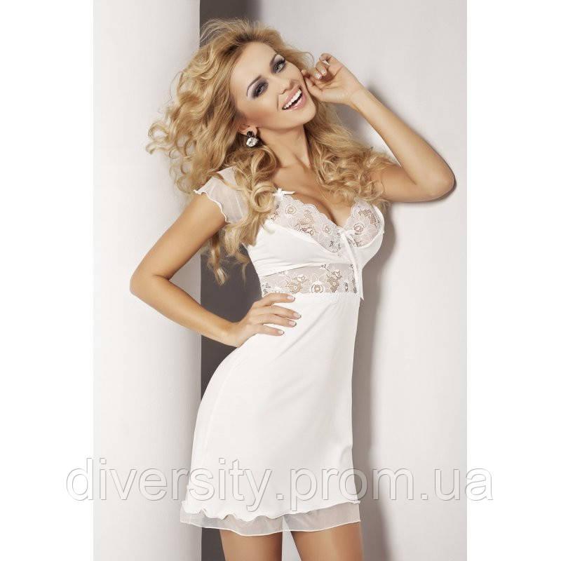 Оригинальная сорочка Paulina DKaren S, молочный