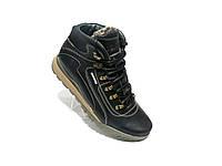 Зимние мужские кожаные ботинки growt стилmь Timberland 42р.