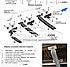 Пороги подножки для Митсубиши Аутлендер (в стиле БМВ Х5 CanOto) черные, фото 7