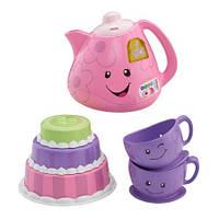 Чайный набор Веселое чаепитие Fisher-Price Laugh & Learn Smart Stages Tea Set