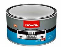 Шпатлевка со стеклянным волокном FIBER, Novol, 1,8кг